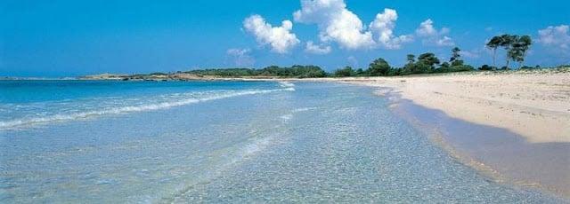 Praia Es Cargols em Maiorca