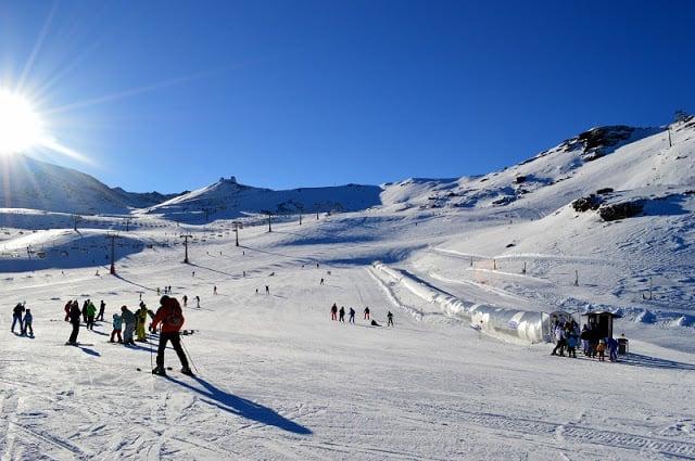 Temporada de esqui na Sierra Nevada