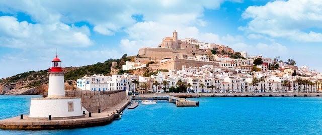 Dalt Vila e região do Porto de Ibiza