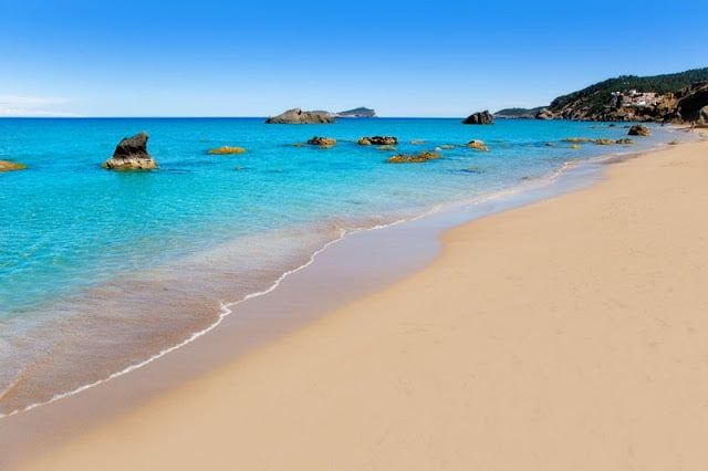 Playa Agua Blanca em Ibiza