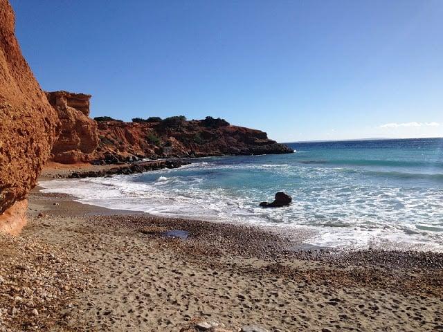 Clima em Ibiza no inverno - Sa Caleta