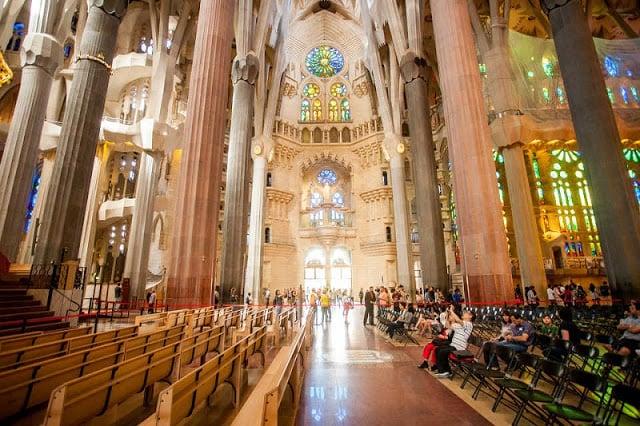 Templo Sagrada Família em Barcelona