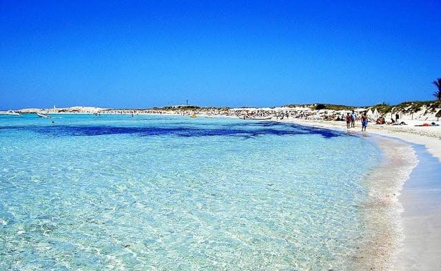 Praia de Ses Illetes em Formentera
