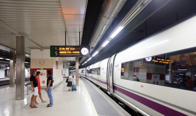 Estação em Barcelona