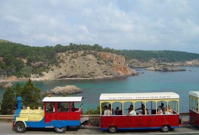 Passeio de Trenzinho em Ibiza