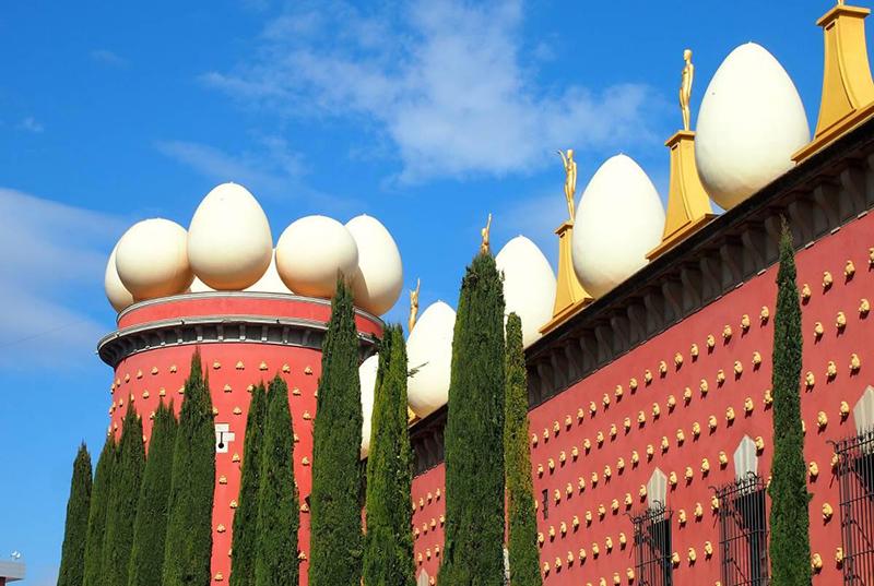 Teatro-Museu Dalí em Figueres