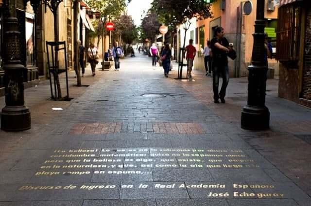 Bairro das Letras em Madri