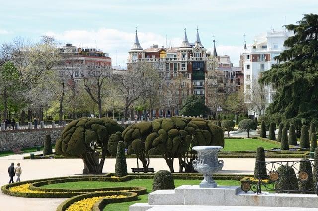 Região do Retiro em Madri