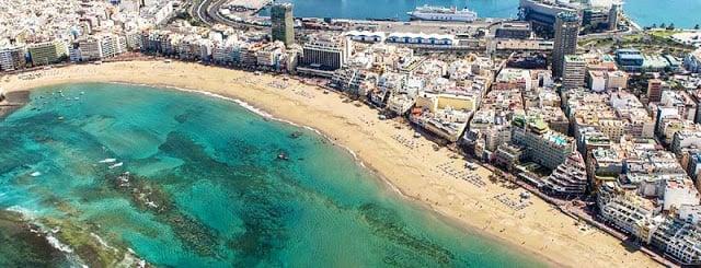Gran Canaria em Las Palmas - Ilhas Canárias
