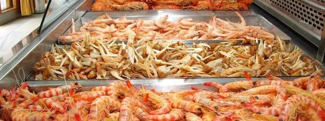 Pescado frito em Cádiz