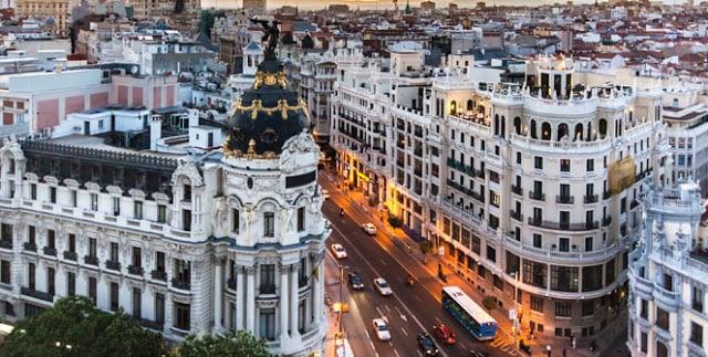 Região Sol-Gran Vía em Madri