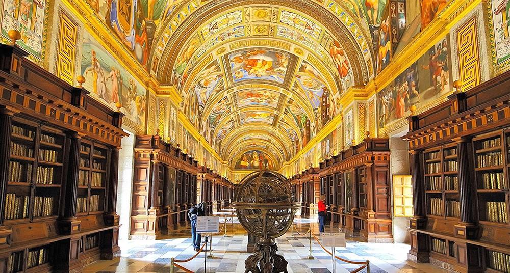 Biblioteca del Escorial em Madrid