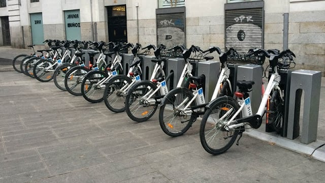 Bicicletas em Madri - BiciMAD