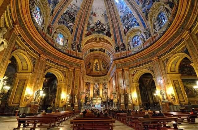 Cúpula da Basílica de San Francisco em Madri