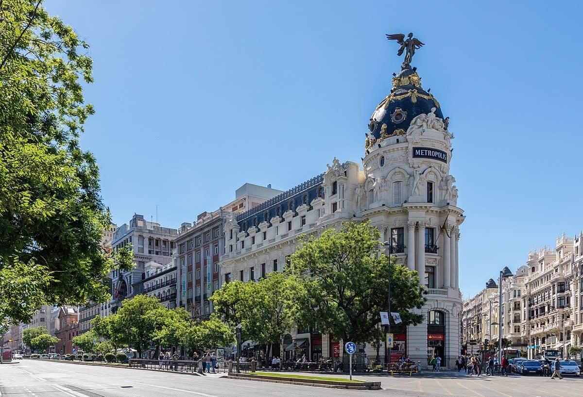 Edifício Metrópolis na Gran Via - Madri