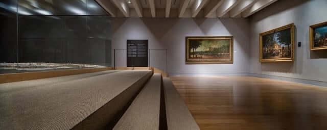 Interior do Museu de História de Madri