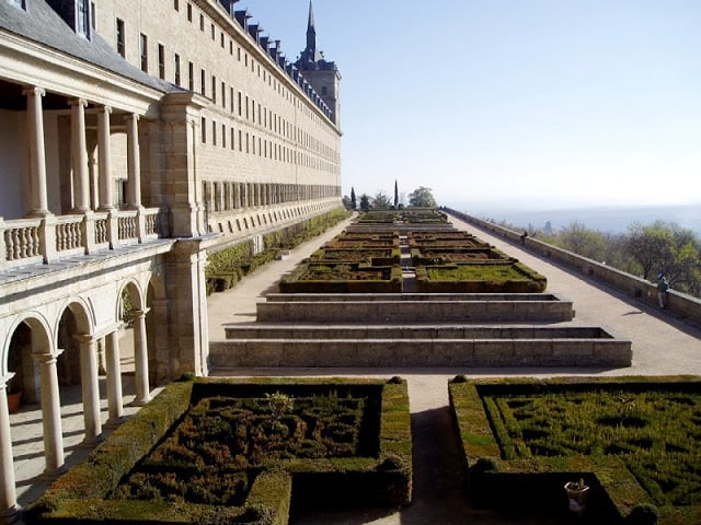 Jardins do Monasterio El Escorial