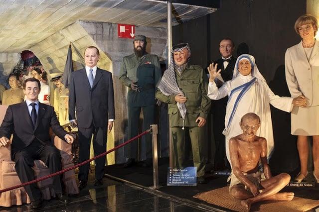 Personagens Museu de Cera de Madri
