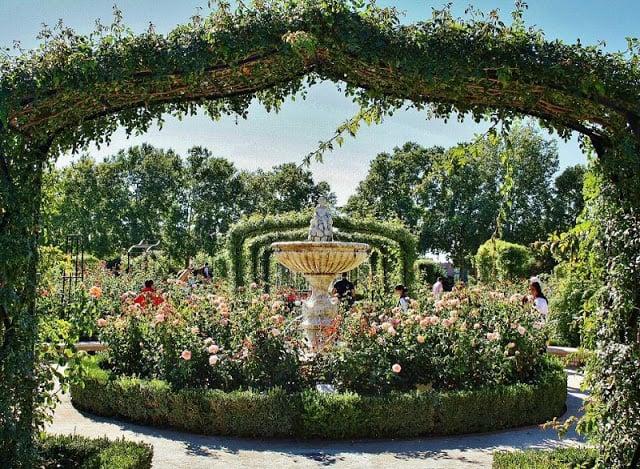 Jardim de La Rosaleda - Madri