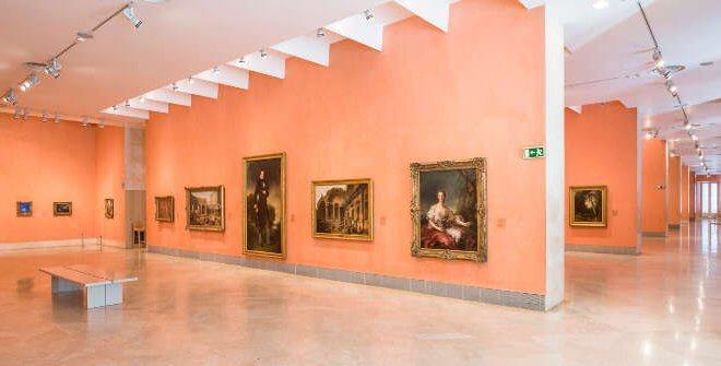 Salas do Museu Thyssen-Bornemisza em Madri