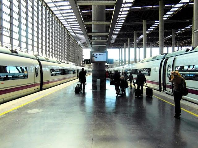Trens Estação Atocha