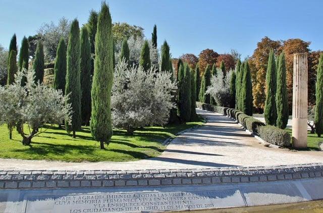Bosque del Recuerdo em Madri