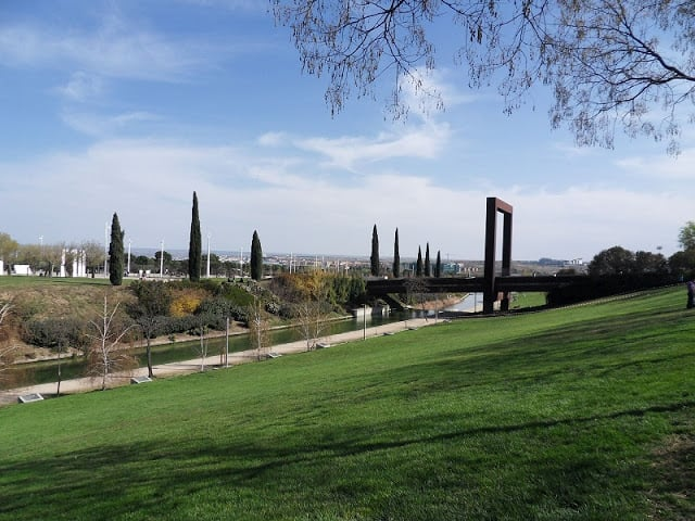 Parque Juan Carlos I em Madri