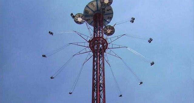 Parque de atrações em Madri