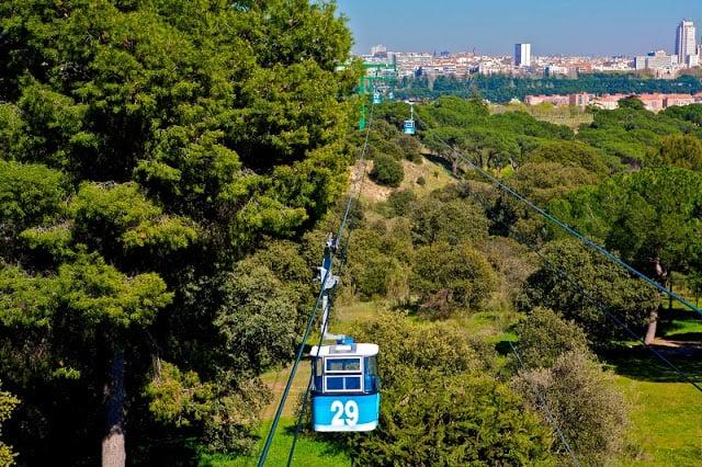 Parque de la Casa de Campo em Madri