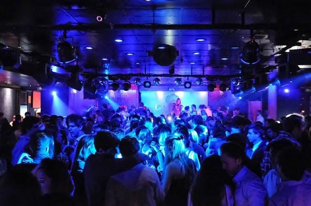 Balada Gabana Club em Madri