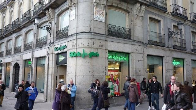 El Corte Inglés - Calle Preciados em Madri