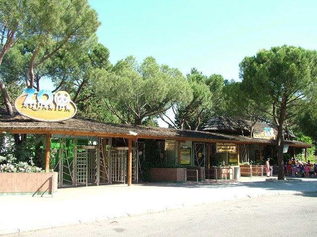 Entrada do Zoo Aquarium de Madri