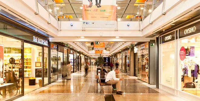 Lojas Shopping Príncipe Pio em Madri