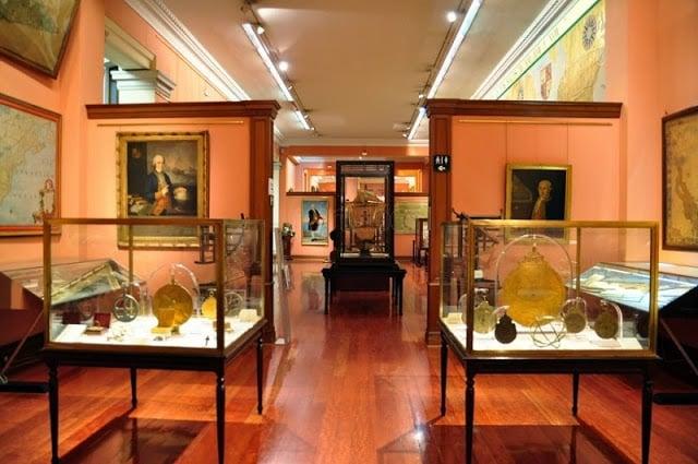 Exposições do Museu Naval em Madri