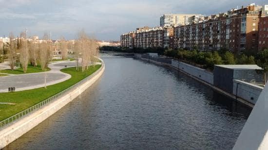 Rio Manzanares em Madri