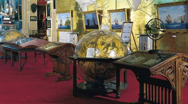 Sala no Museu Naval de Madri