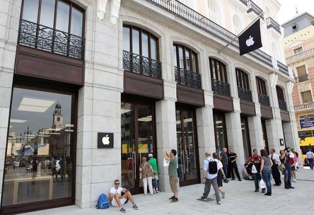 Lojas Apple em Madri - Puerta del Sol