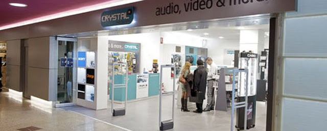 Loja de eletrônicos Crystal Media Shop