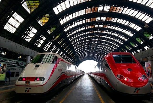 Trem de Madri a Milão