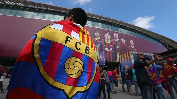 Jogo do Barça no Camp Nou