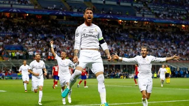Jogo do Real Madrid e Barcelona