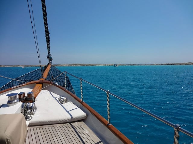 Passeio de barco em Ibiza