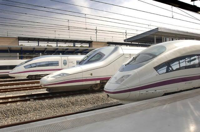 Trens na Espanha