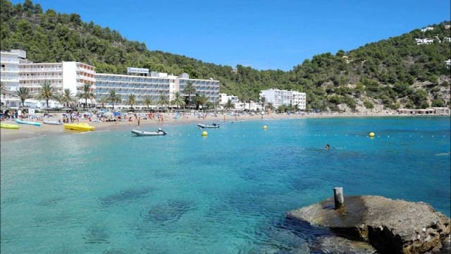 Cidade de San Juan em Ibiza