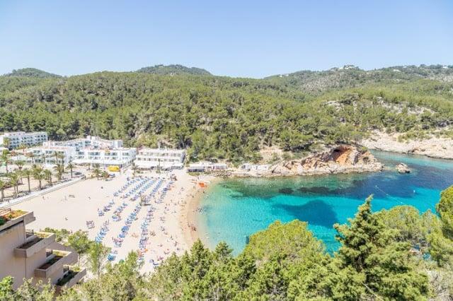 Cidade de San Miguel em Ibiza