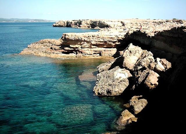 Parque Natural de Ses Salines em Formentera