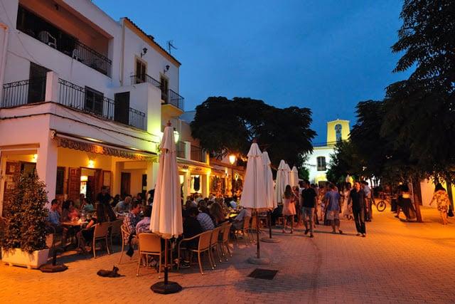 Santa Gertrudis em Ibiza: Bar Costa