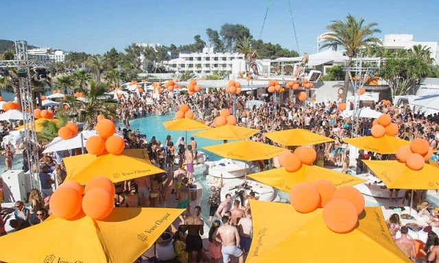 Beach Club Ocean Beach em Ibiza