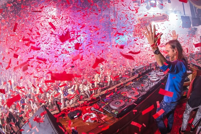 Festas na balada Pacha Ibiza - David Guetta