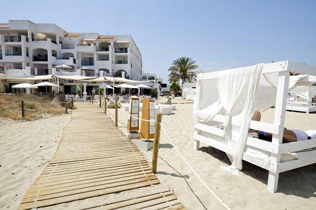White Eivissa Beach Club na Playa d'en Bossa